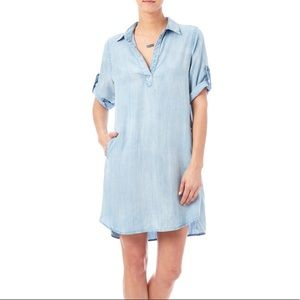 Laju | Chambray Dress